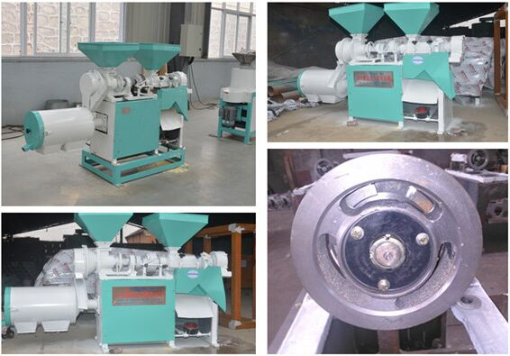 DNM-3B Corn Peeling, Grits and Flour Milling Machine
