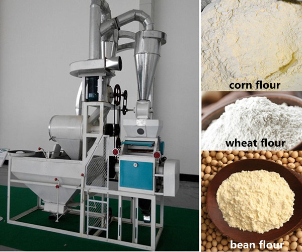 NF Single Corn Flour Milling Machine