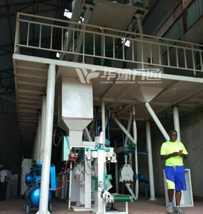 Burundi 40T/Day Maize Flour Milling Line Installation